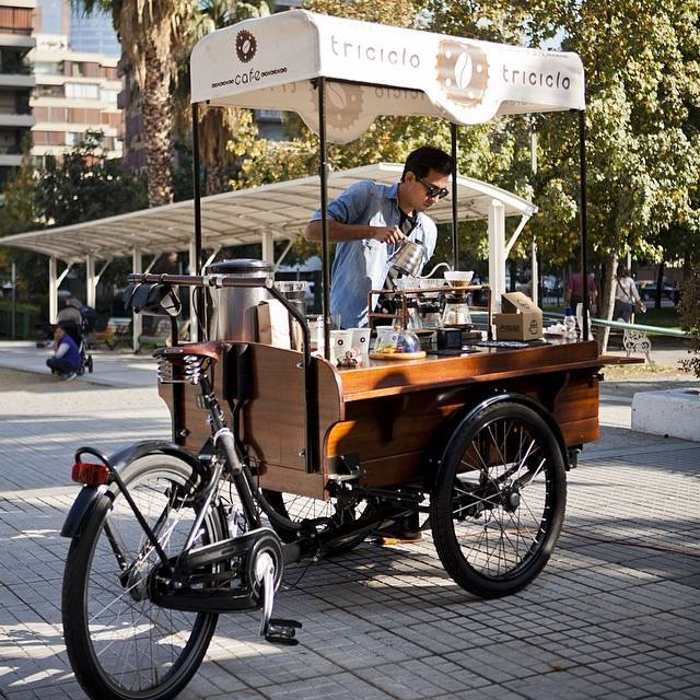 Food On Wheels comes to Santiago- By Gabriel O'Rorke