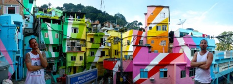 Favela Painting Haas and Hahn
