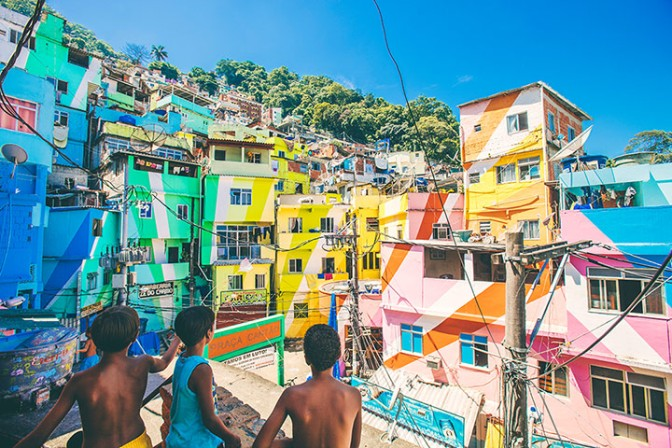 Rio's Slums- the new tourist attraction.